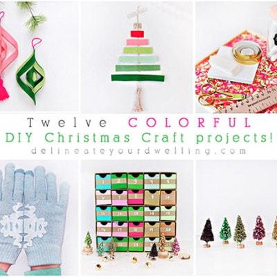 1 Colorful Christmas DIY ideas