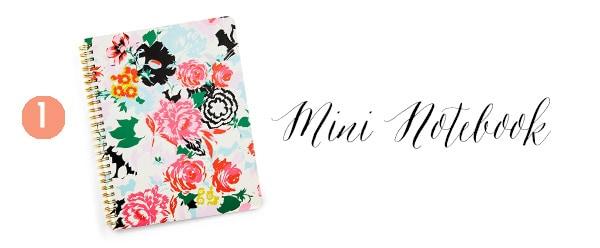 1 Mini Notebook, Creative Gift Guide