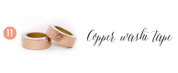 11 Copper Tape Creative Gift Guide