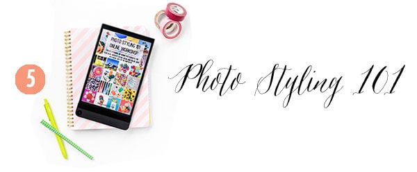 5 Photo Styling, Creative Gift Guide