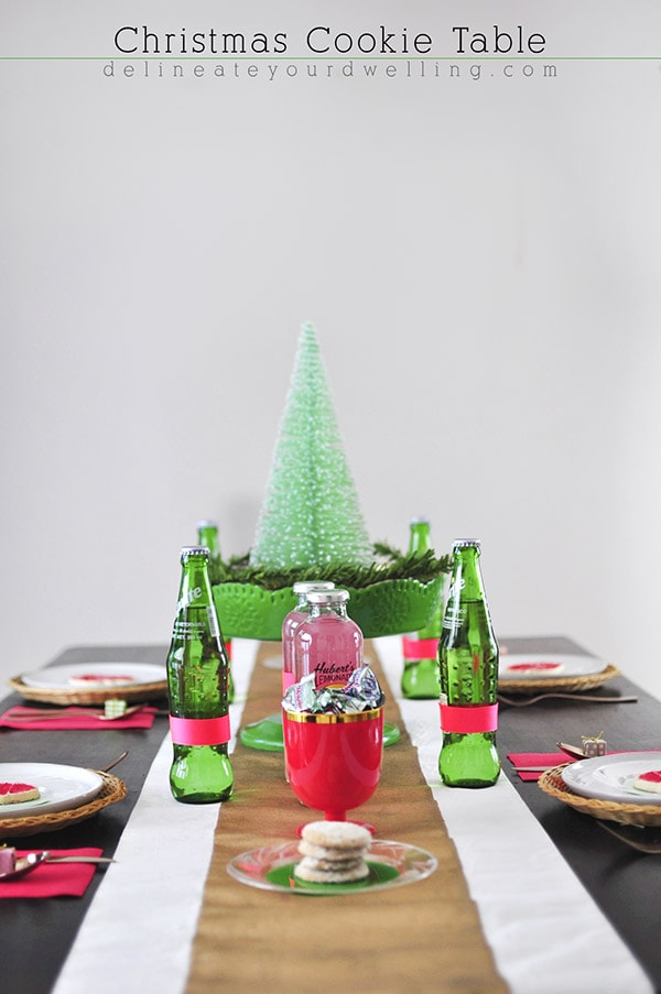 Christmas Cookie Table, Delineateyourdwelling.com