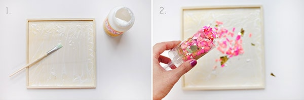 DIY Confetti Tray steps1-2