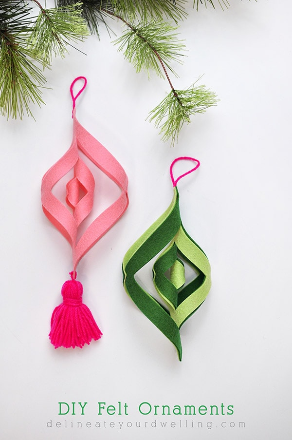felt craft ideas for christmas diy felt ornaments delineate your dwelling 6573
