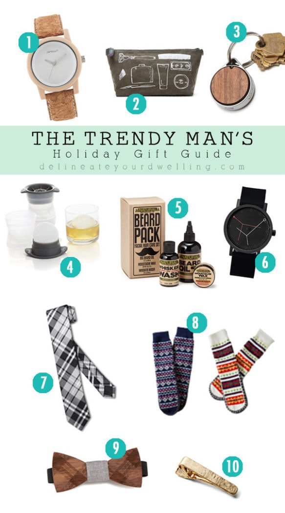 Trendy Man Christmas Gift Guide