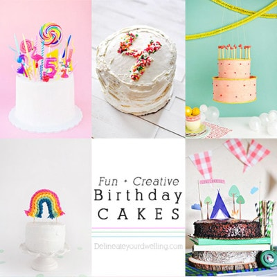 1 Fun Creative Birthday Cakes