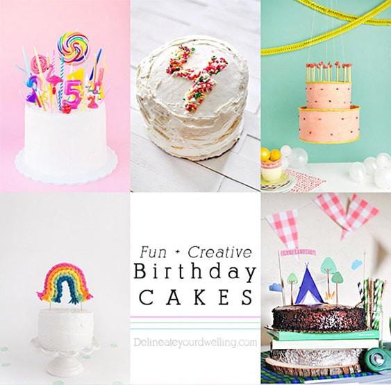 1 Fun Creative Birthday Cakes