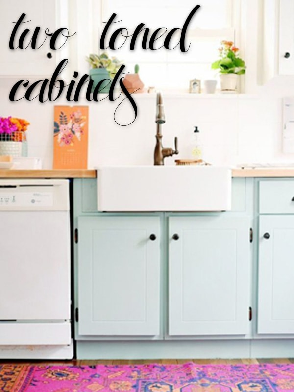 2016 Design Trends Kitchen Cabinets