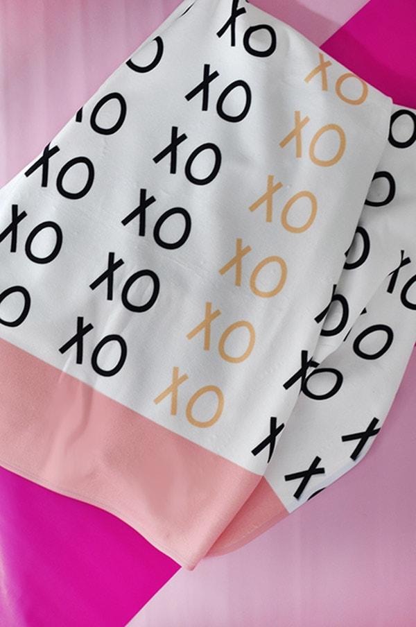 Custom xoXO Blanket
