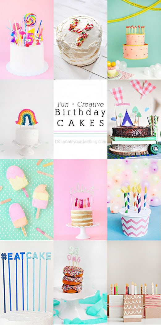 Fun Creative Birthday Cakes, Delineateyourdwelling.com