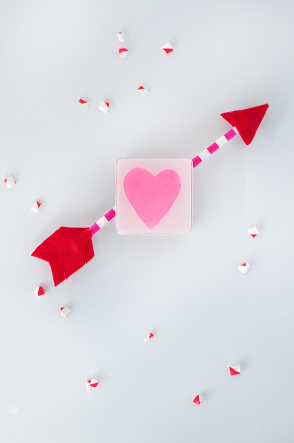 Heart Painted Candy Boxes