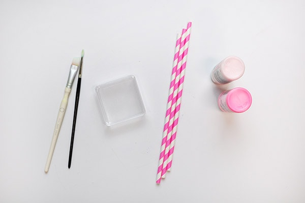 Painted Candy Box supplies