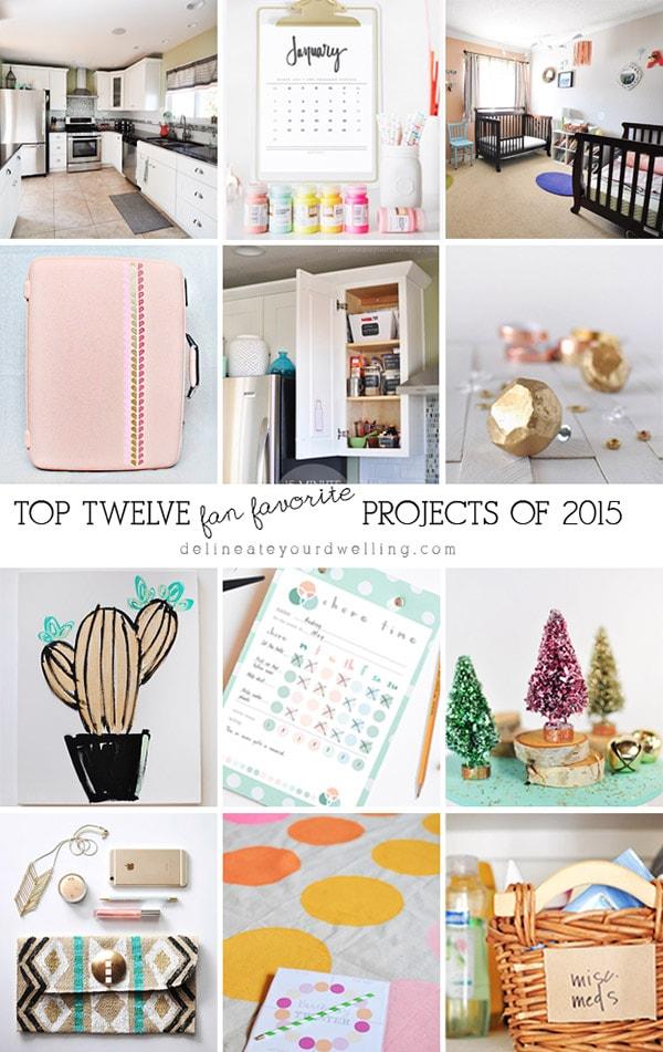 Top 12 Favorite 2015 Posts, Delineateyourdwelling.com