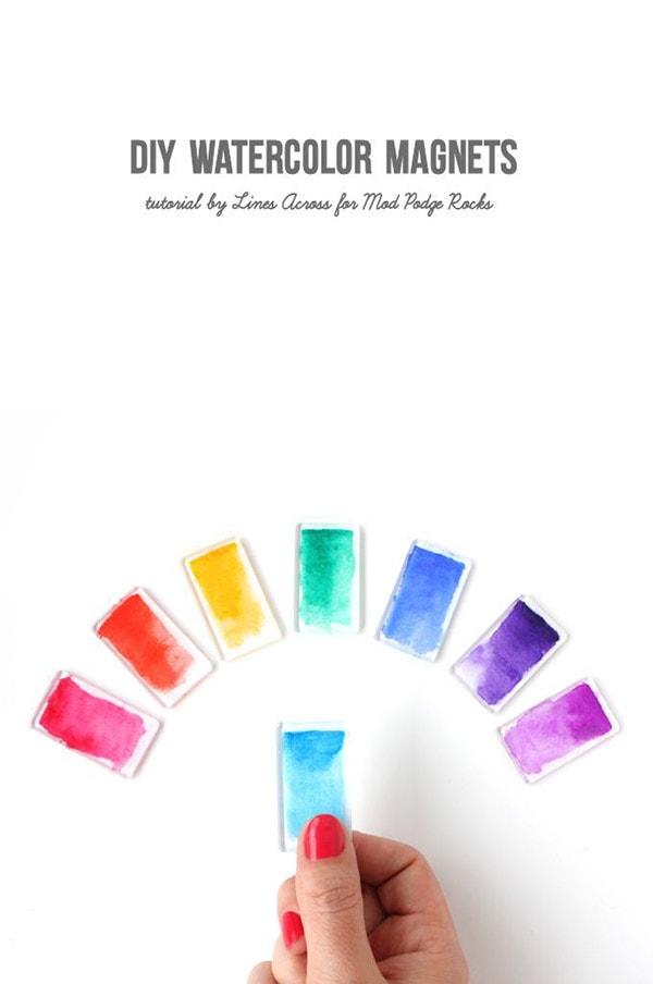 DIY-Watercolor-Magnets