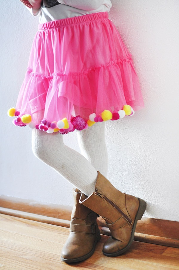 Pom Party Skirt