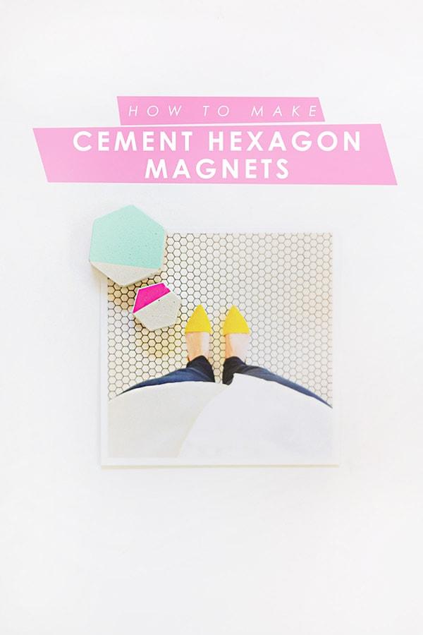 diy-cement-hexagon-magnets