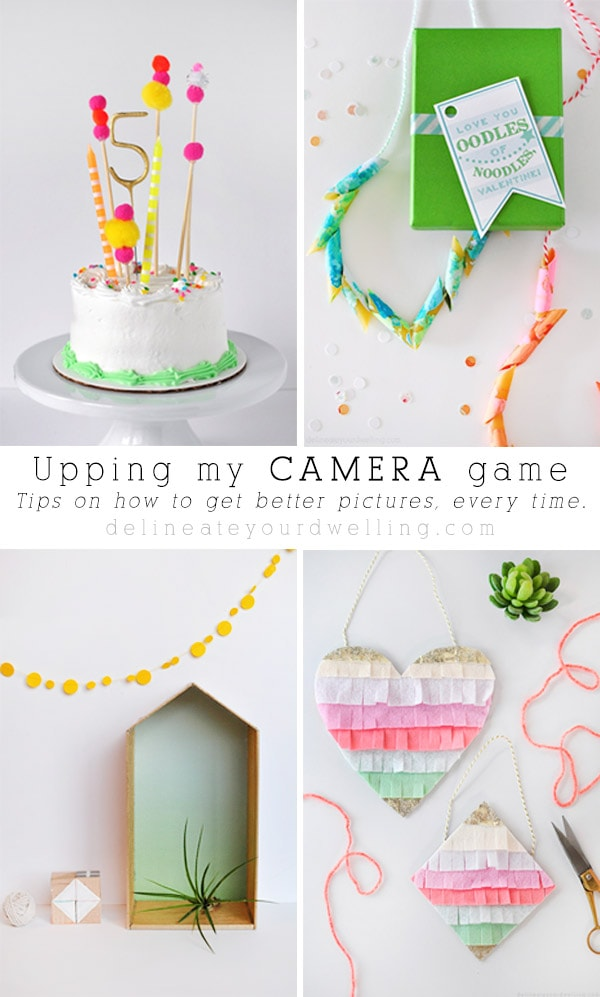 Upping my Camera Game + A Giveaway - Simple Camera Tips for Better Pictures every time, Delineate Your Dwelling