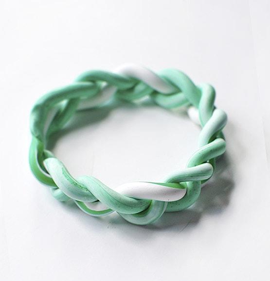 1 DIY Clay Braided Bracelet2