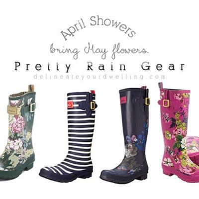 1 Pretty Rain Gear
