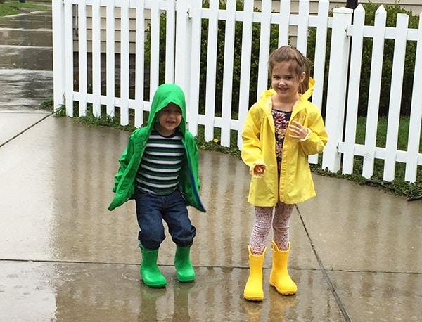 Kids Pretty Rain Gear
