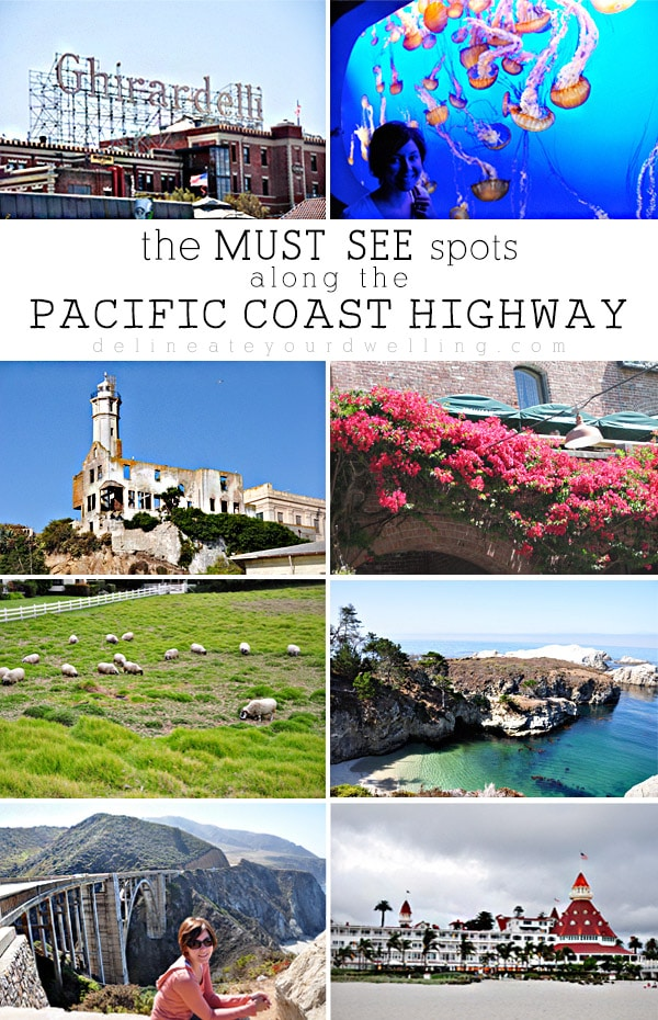 Pacific Coast Highway highlights