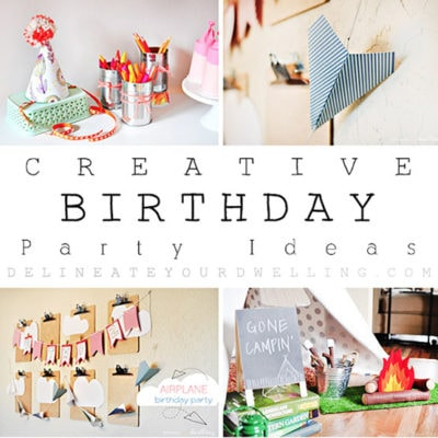 1 Creative Birthday Parties Roundup