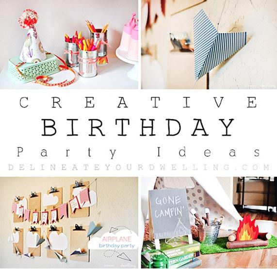 Birthday Party Roundup