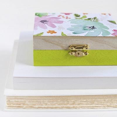 1 DIY Floral Painted Box