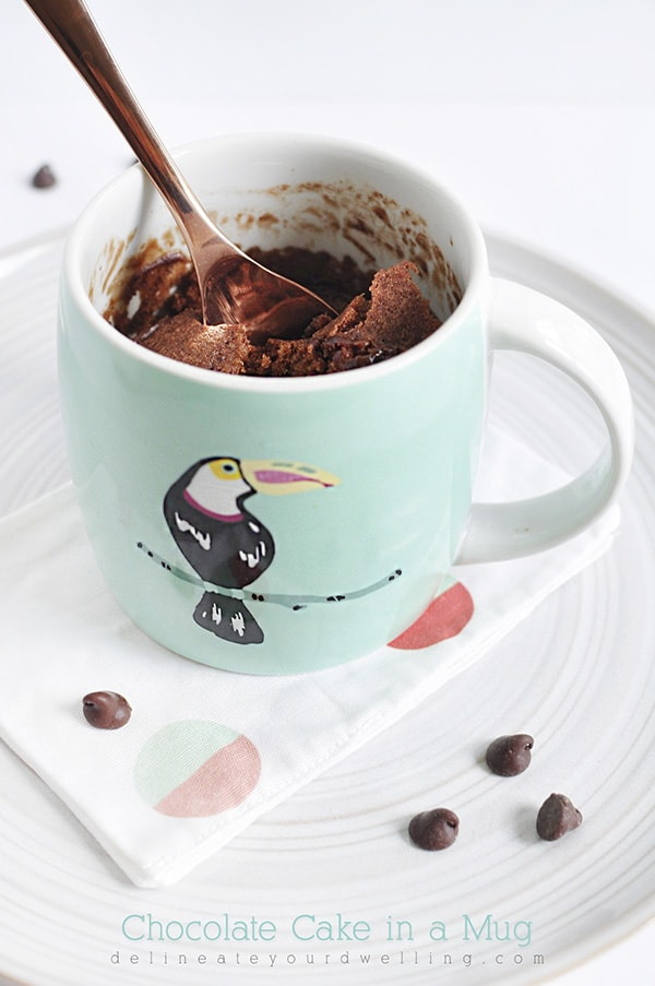 Food - Chocolate Cake Mug, Delineate Your Dwelling