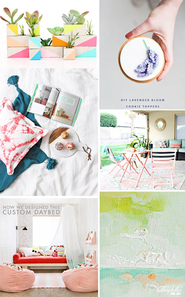 Colorful Crafts to make this weekend, Delineate Your Dwelling