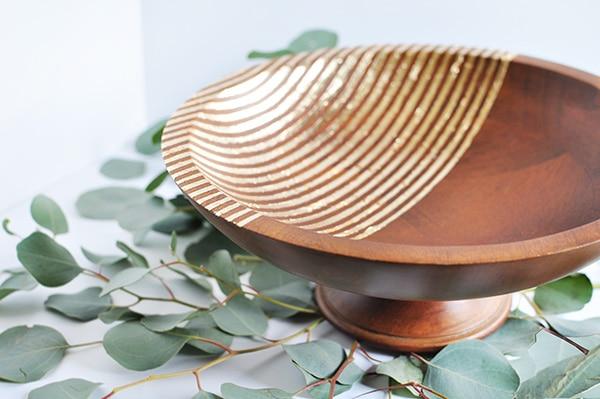 Gold Foil Bowl