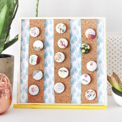 1b DIY Button Display Holder