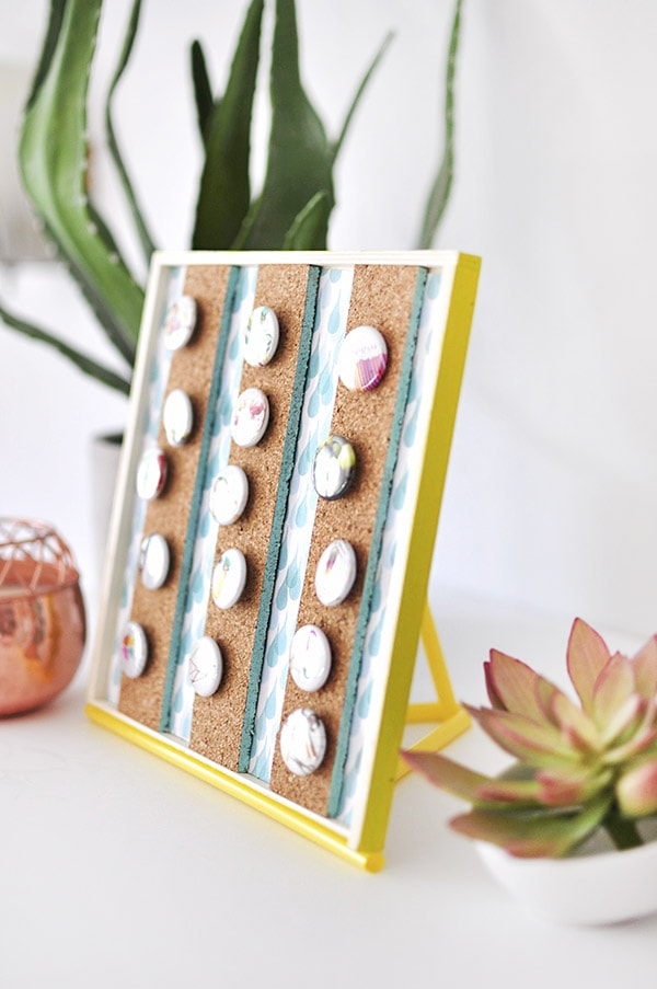 Button Holder display diy