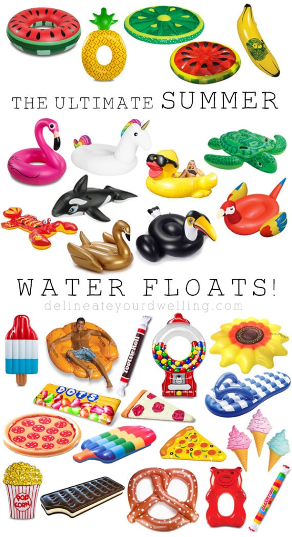 Ultimate Summer Water Float roundup