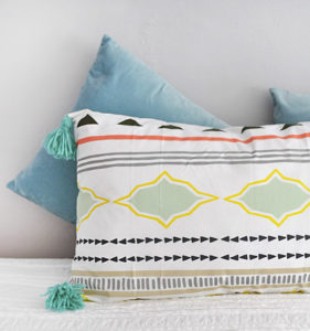 1 Lounge Tassel Pillow