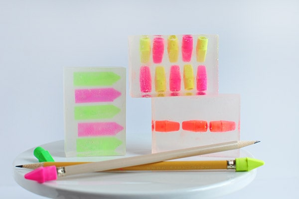 How to create whimsical DIY Back to School Soap, Delineate Your Dwelling