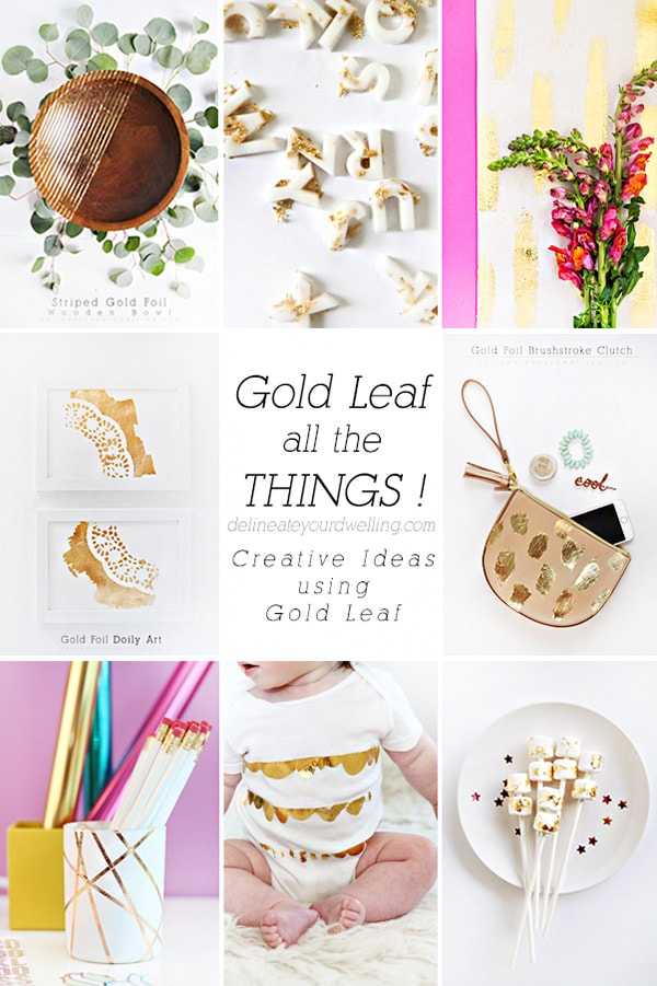 Creative Gold Leaf Roundup