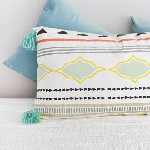 How to make a Lounge Tassel Pillow
