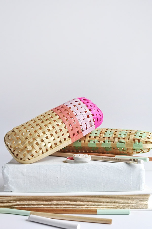 Diy Rattan Pencil Case Delineate Your Dwelling
