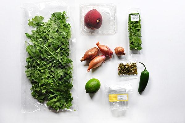 Marley Spoon Food Subscription Ingredients