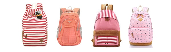 Stylish Backpacks PINK
