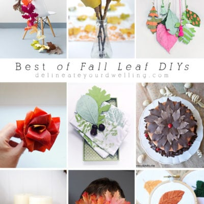 The Best Of Leaf DIYs and crafts for the Fall time! Delineate Your Dwelling
