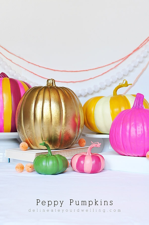 DIY-peppy-Painted-pumpkins, Delineate Your Dwelling