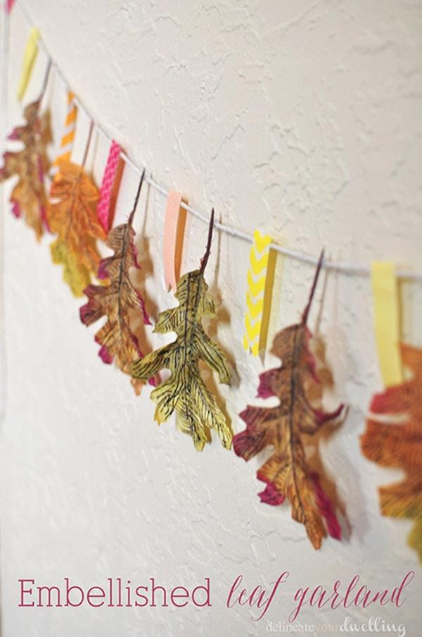 embellished-leaf-garland
