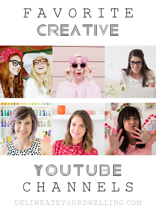 Favorite Creative Youtube Channels, Delineate Your Dwelling