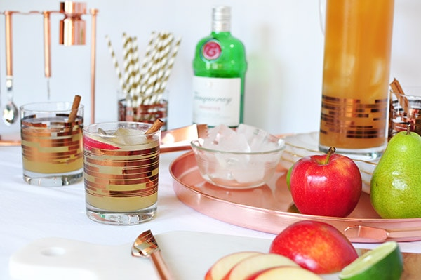 Perfect Fall Apple Cider Mule
