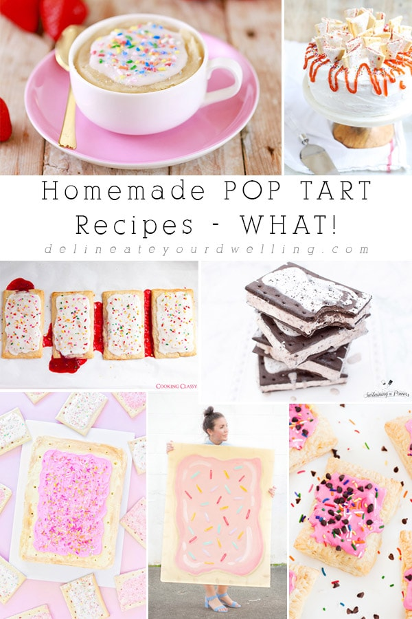 Delicious and Creative Homemade Pop Tart Recipe roundup! Delineate Your Dwelling
