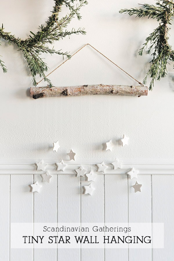 Holiday Clay Star Wall Hanging
