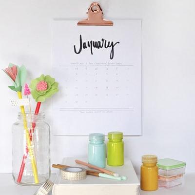 1-2017-free-hand-lettered-calendar