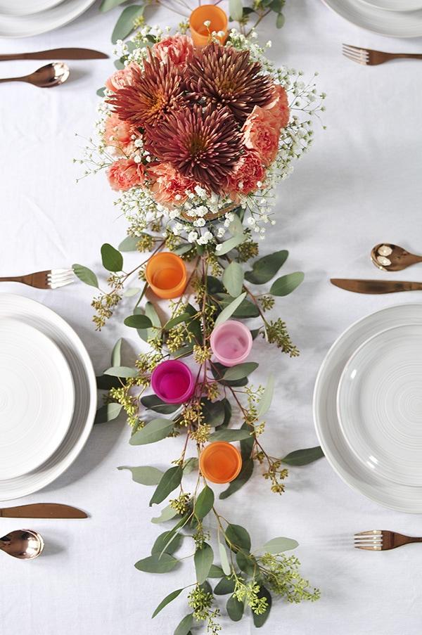Minimal Table Decoration