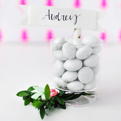1 DIY Mini Place card holder